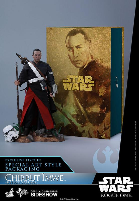Hot Toys SW Rogue One - Chirrut Imwe 1/6th scale Figure Chirru30