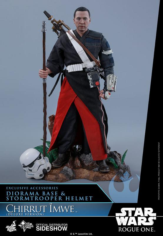 Hot Toys SW Rogue One - Chirrut Imwe 1/6th scale Figure Chirru32