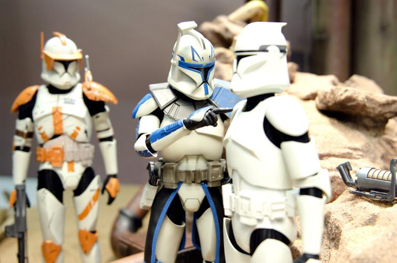 Sideshow - Clones Troopers Deluxe Sixth Scale Figure  Clone011