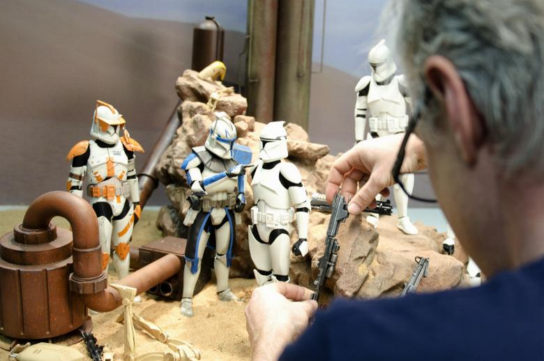 Sideshow - Clones Troopers Deluxe Sixth Scale Figure  Clone014