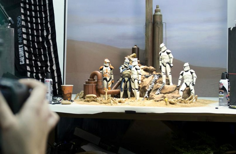Sideshow - Clones Troopers Deluxe Sixth Scale Figure  Clone015