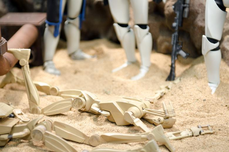 Sideshow - Clones Troopers Deluxe Sixth Scale Figure  Clone018