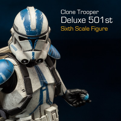 Sideshow - Clones Troopers Deluxe Sixth Scale Figure  Clone112