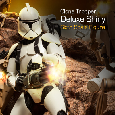 Sideshow - Clones Troopers Deluxe Sixth Scale Figure  Clone113