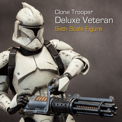 Sideshow - Clones Troopers Deluxe Sixth Scale Figure  Clone114