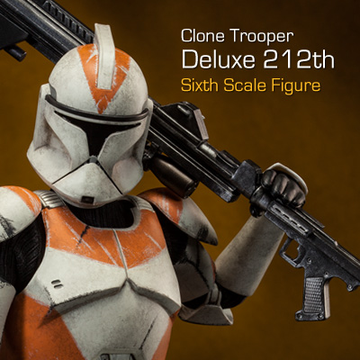 Sideshow - Clones Troopers Deluxe Sixth Scale Figure  Clone115