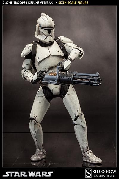 Sideshow - Clones Troopers Deluxe Sixth Scale Figure  Clone116