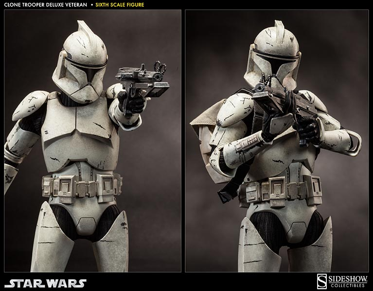Sideshow - Clones Troopers Deluxe Sixth Scale Figure  Clone117