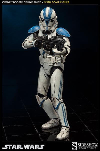 Sideshow - Clones Troopers Deluxe Sixth Scale Figure  Clone213