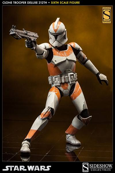 Sideshow - Clones Troopers Deluxe Sixth Scale Figure  Clone214