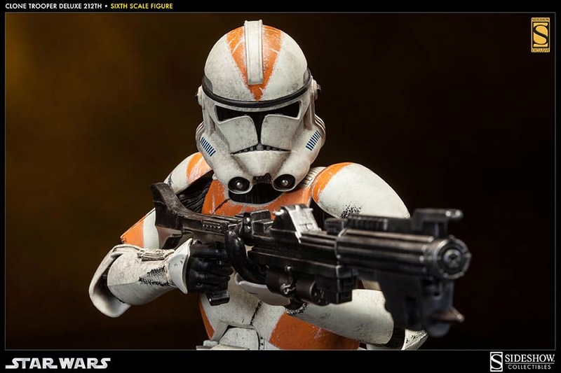 Sideshow - Clones Troopers Deluxe Sixth Scale Figure  Clone217