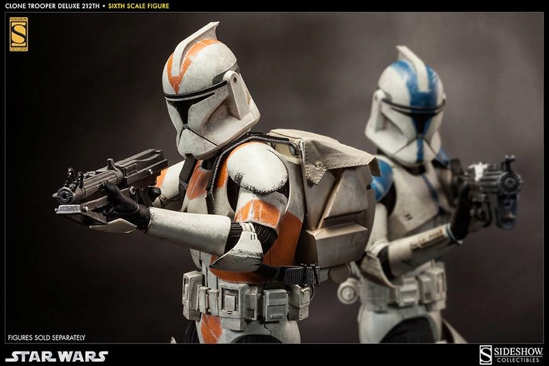 Sideshow - Clones Troopers Deluxe Sixth Scale Figure  Clone218
