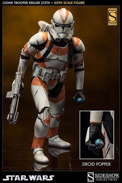 Sideshow - Clones Troopers Deluxe Sixth Scale Figure  Clone310