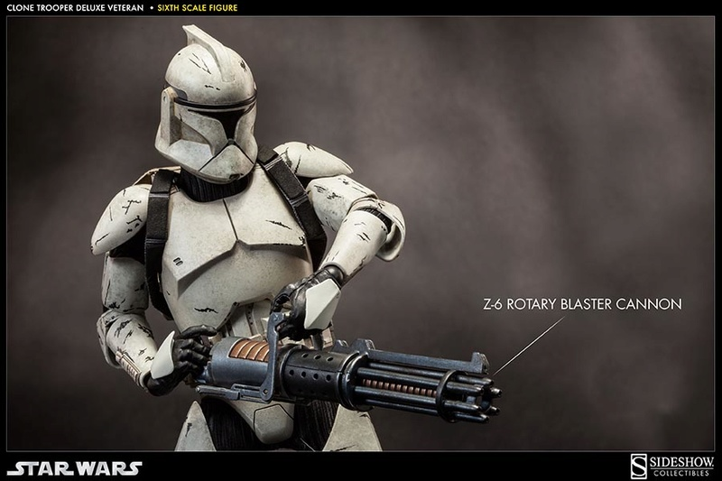 Sideshow - Clones Troopers Deluxe Sixth Scale Figure  Clone312