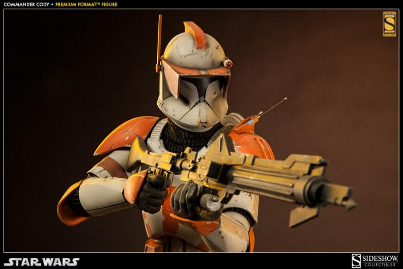 Sideshow Collectible Commander Cody Premium Format  Codypf12