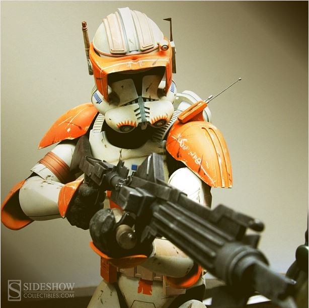 Sideshow Collectible Commander Cody Premium Format  Codypf13