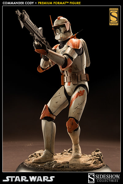 Sideshow Collectible Commander Cody Premium Format  Codypf16