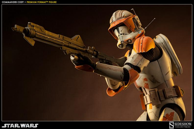 Sideshow Collectible Commander Cody Premium Format  Codypf17