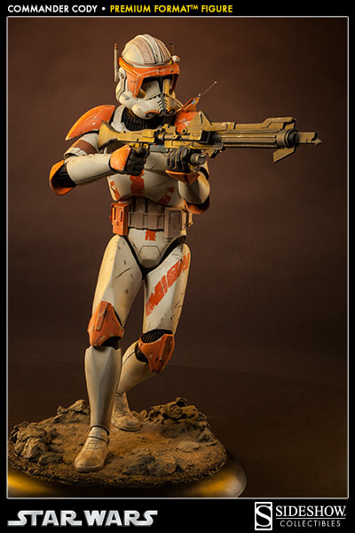 Sideshow Collectible Commander Cody Premium Format  Codypf19