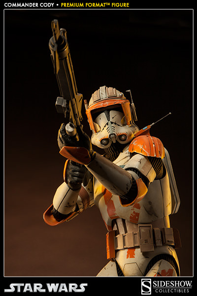 Sideshow Collectible Commander Cody Premium Format  Codypf20