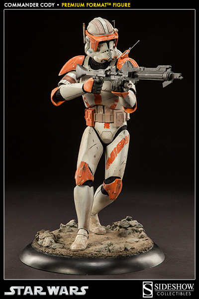 Sideshow Collectible Commander Cody Premium Format  Codypf24
