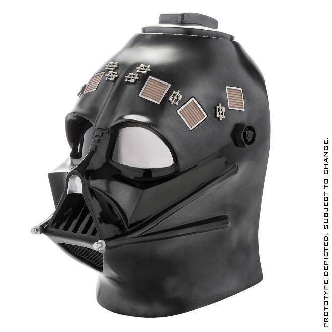 Anovos STAR WARS - Darth Vader Helmet - Standard Line Darth-16