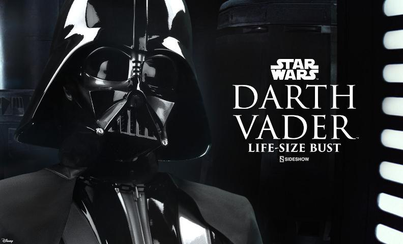 Sideshow Collectibles - Darth Vader Life-Size Bust (2016) Darth-29
