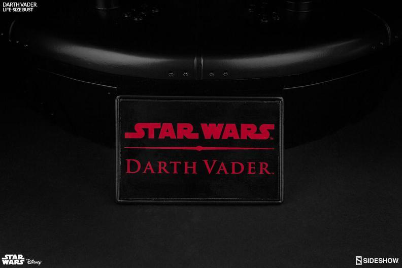 Sideshow Collectibles - Darth Vader Life-Size Bust (2016) Darth-32
