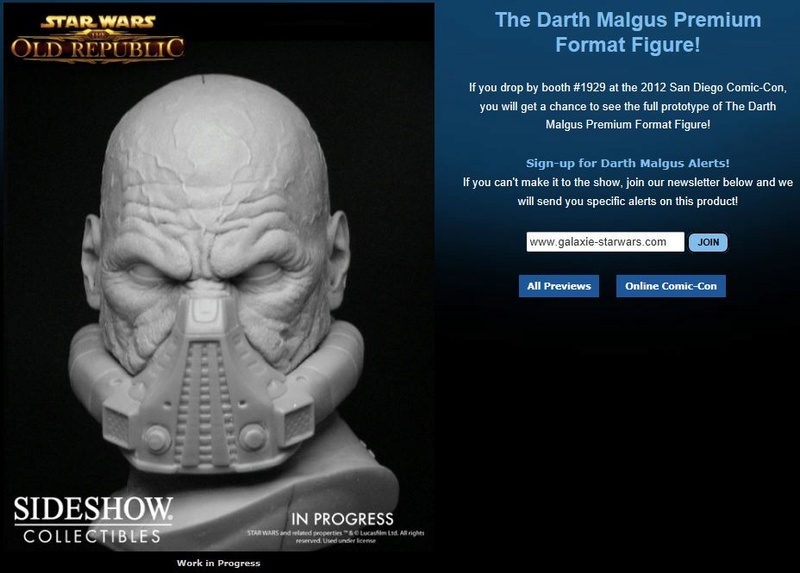 SIDESHOW DARTH MALGUS - Premium Format  Darthm12