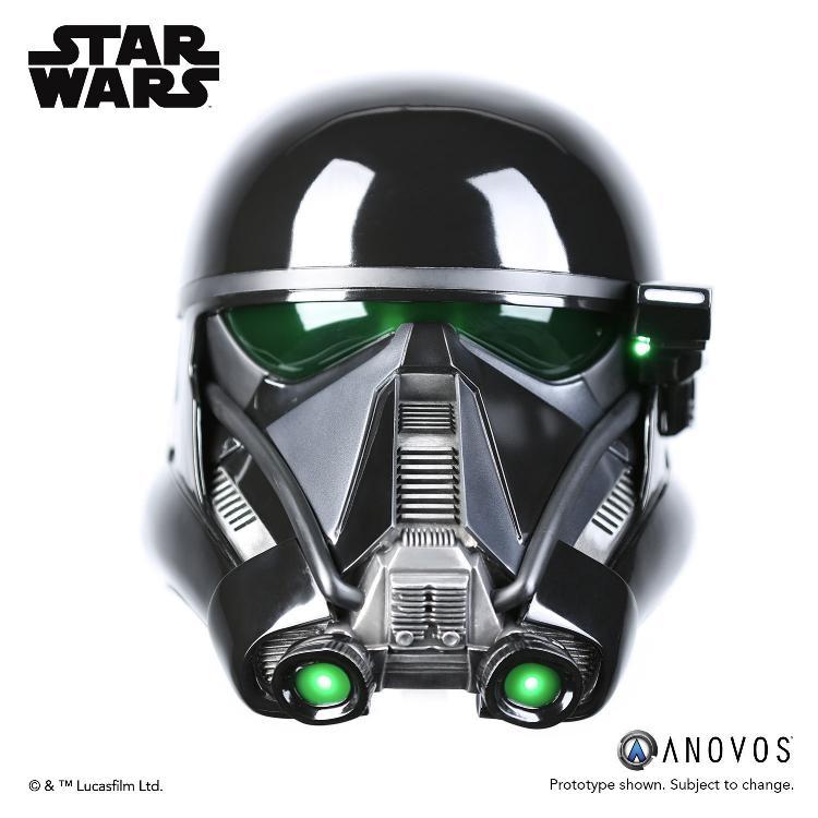 ANOVOS STAR WARS  ROGUE ONE  Death Trooper Specialist Helmet Death_10