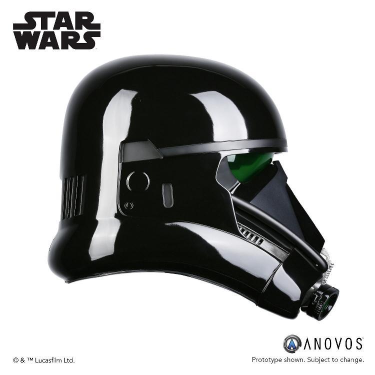 ANOVOS STAR WARS  ROGUE ONE  Death Trooper Specialist Helmet Death_12