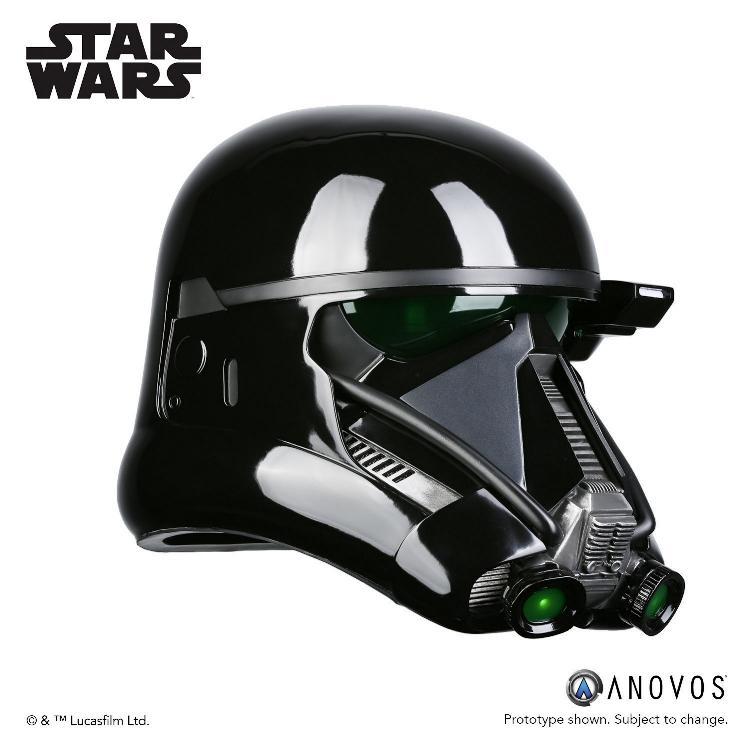 ANOVOS STAR WARS  ROGUE ONE  Death Trooper Specialist Helmet Death_13