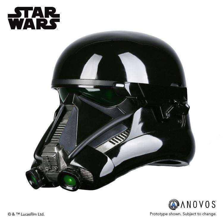 ANOVOS STAR WARS  ROGUE ONE  Death Trooper Specialist Helmet Death_15