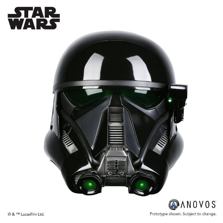 ANOVOS STAR WARS  ROGUE ONE  Death Trooper Specialist Helmet Death_17