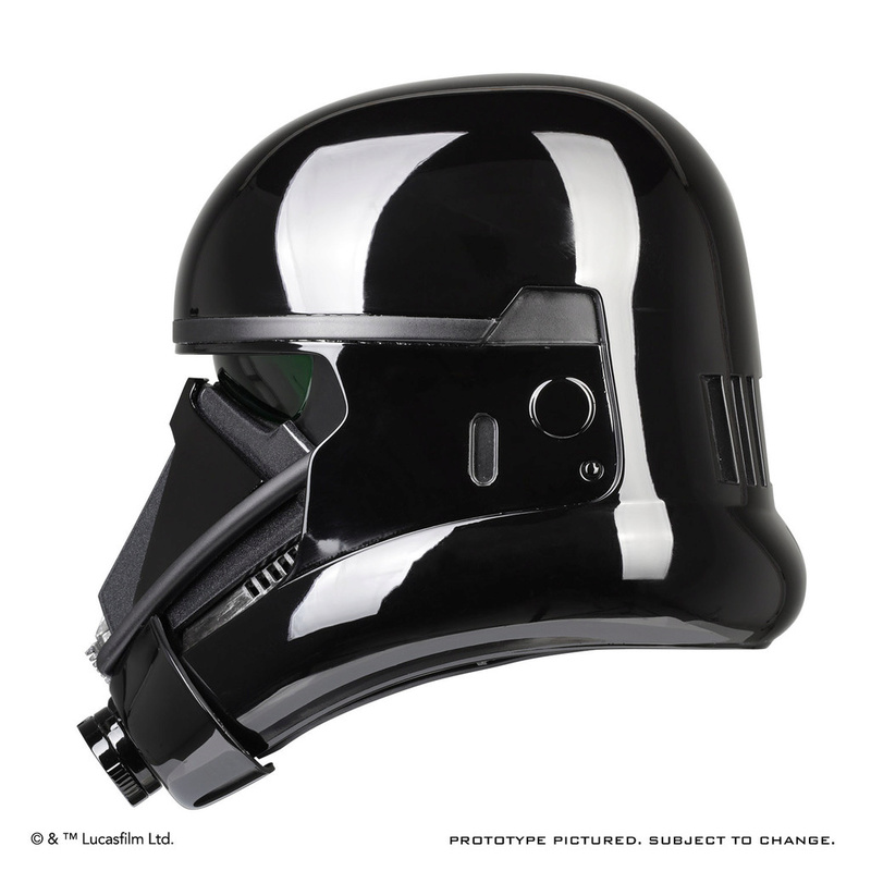 ANOVOS ROGUE ONE Death Trooper Helmet Death_22