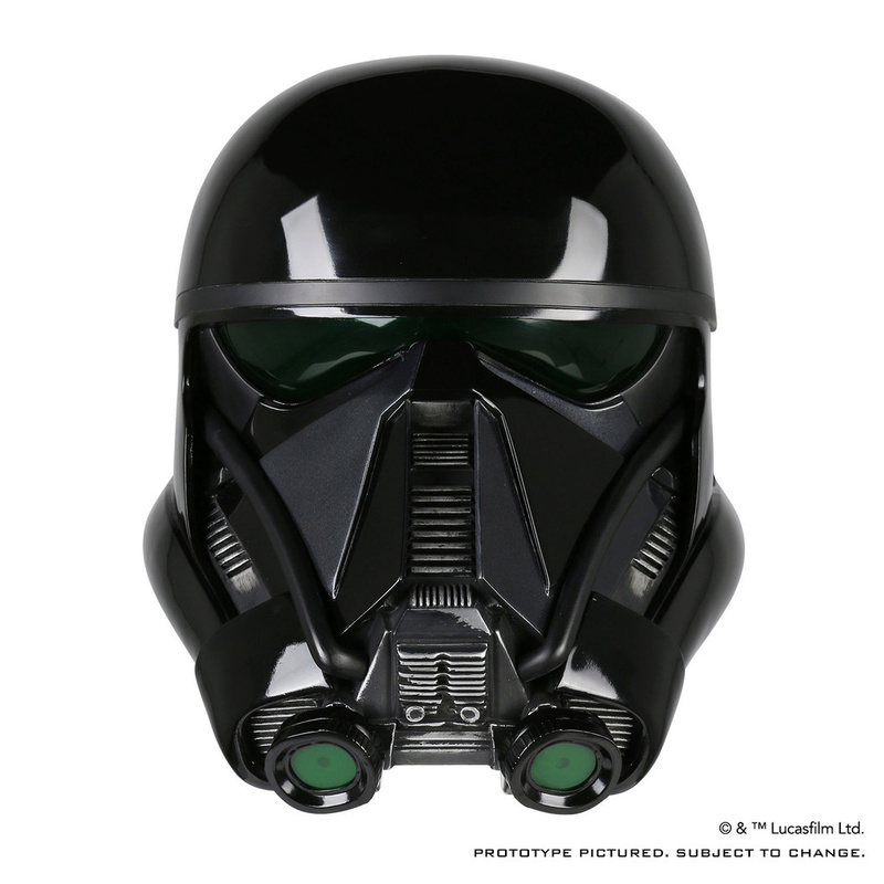 ANOVOS ROGUE ONE Death Trooper Helmet Death_23