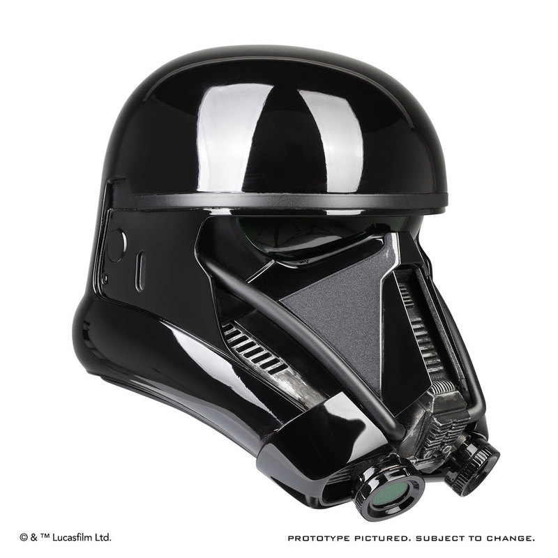 ANOVOS ROGUE ONE Death Trooper Helmet Death_28