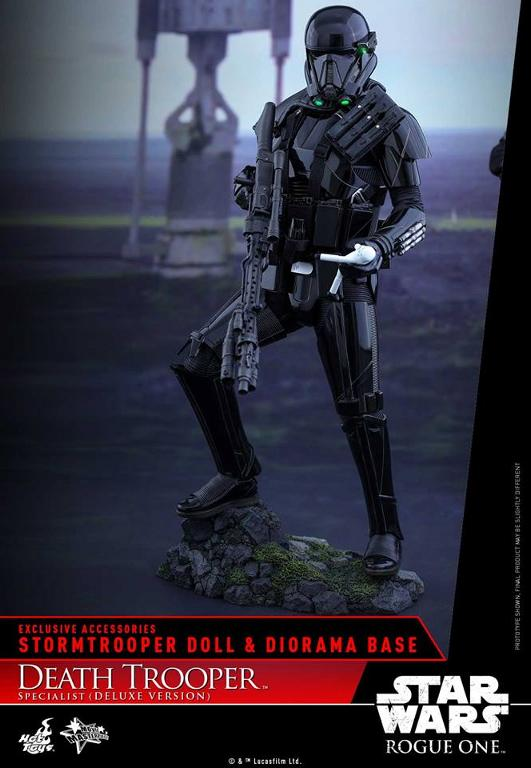 Hot Toys Rogue One - 1/6th Death Trooper Specialist (Deluxe) Death_31