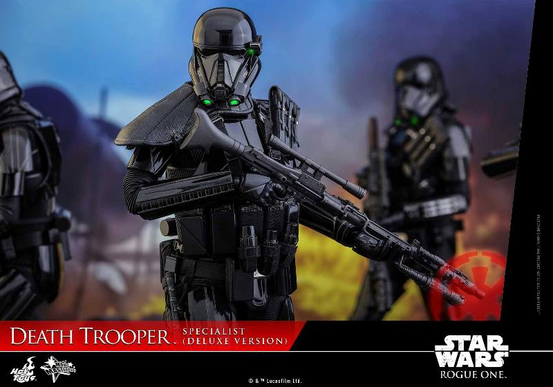 Hot Toys Rogue One - 1/6th Death Trooper Specialist (Deluxe) Death_38