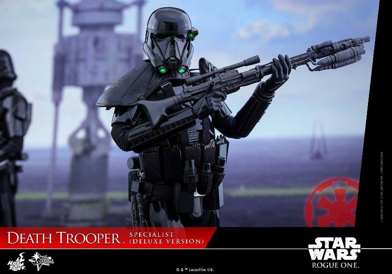 Hot Toys Rogue One - 1/6th Death Trooper Specialist (Deluxe) Death_40