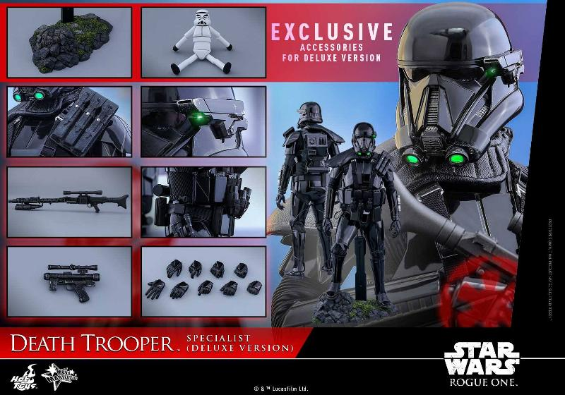 Hot Toys Rogue One - 1/6th Death Trooper Specialist (Deluxe) Death_42