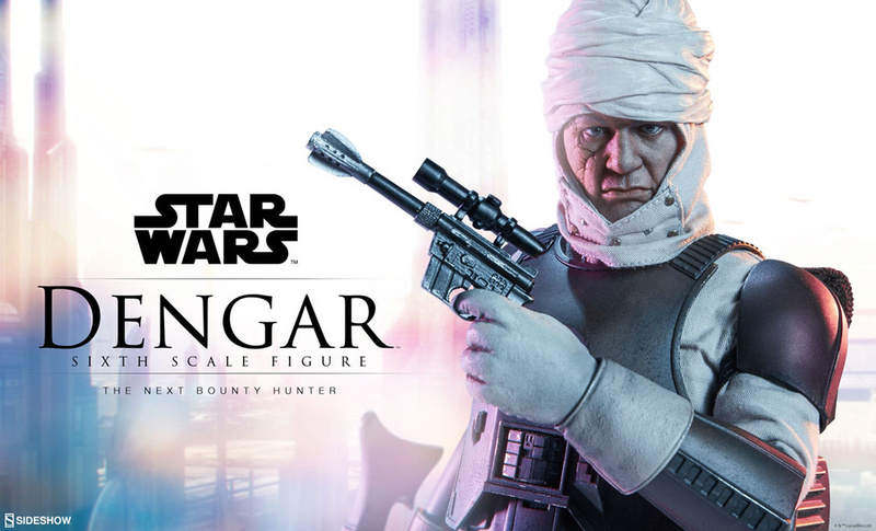 Sideshow Collectibles - Dengar Sixth Scale Figure Dengar11