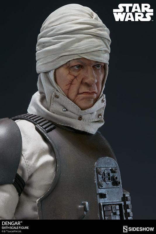 Sideshow Collectibles - Dengar Sixth Scale Figure Dengar15