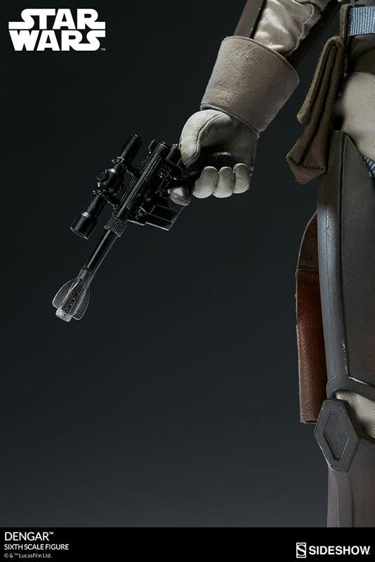 Sideshow Collectibles - Dengar Sixth Scale Figure Dengar20