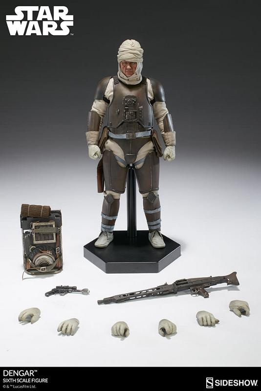 Sideshow Collectibles - Dengar Sixth Scale Figure Dengar21