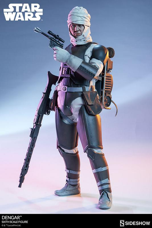Sideshow Collectibles - Dengar Sixth Scale Figure Dengar26