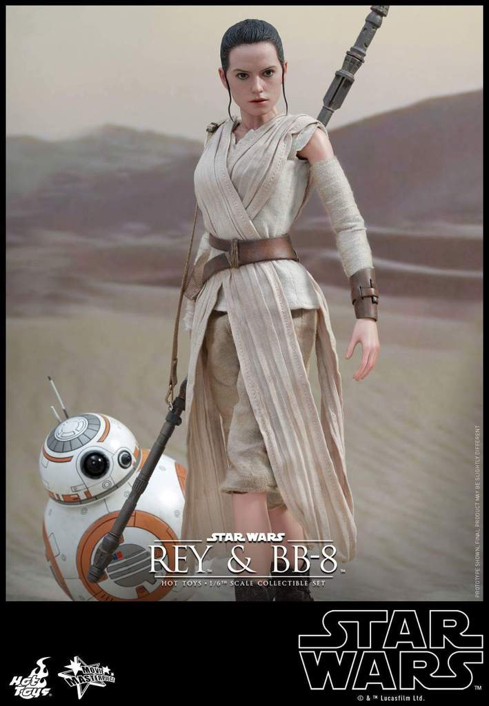 Hot Toys Star Wars TFA 1/6th Scale Rey et BB-8 Fb_img15