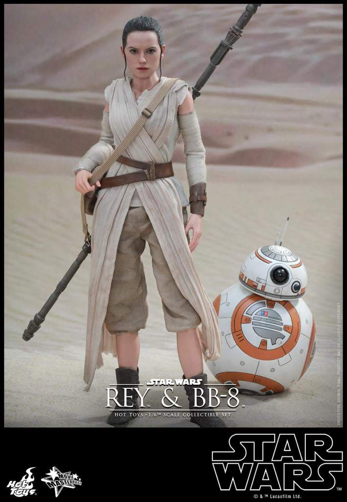 Hot Toys Star Wars TFA 1/6th Scale Rey et BB-8 Fb_img16
