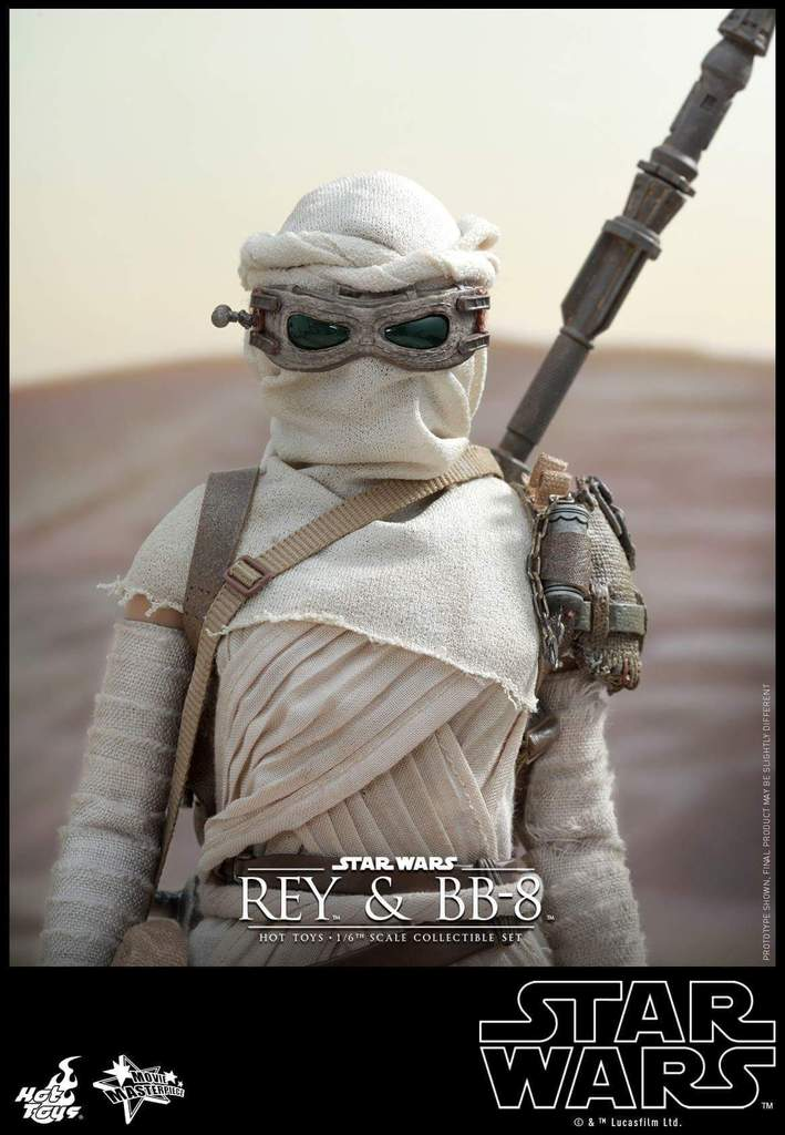 Hot Toys Star Wars TFA 1/6th Scale Rey et BB-8 Fb_img23