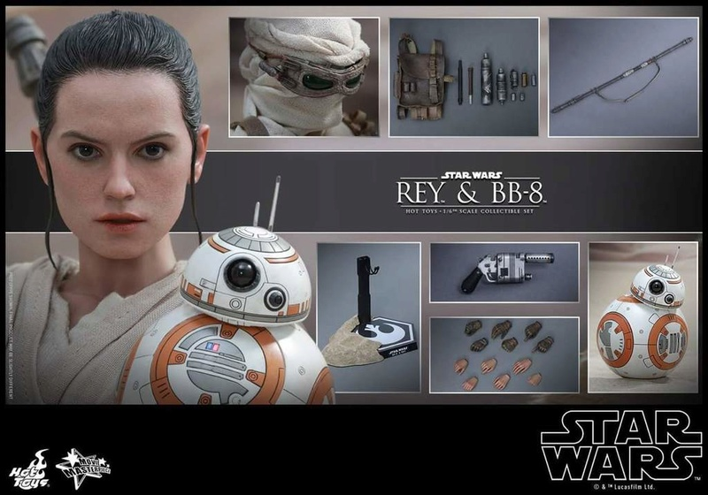 Hot Toys Star Wars TFA 1/6th Scale Rey et BB-8 Fb_img30